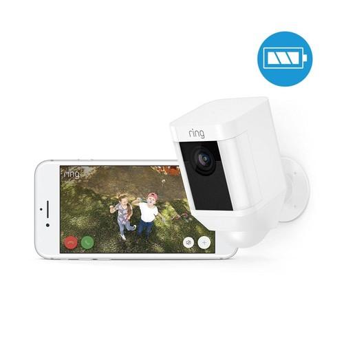 4462229 Ring 8SB1S7-WEU0 Überwachungs- kamera WLAN weiß Batterie Produktbild