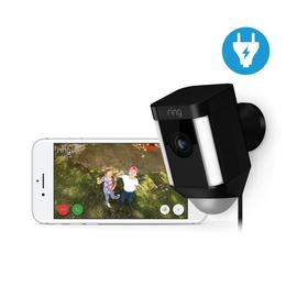 4462230 Ring 8SH1P7-BEU0 Überwachungs- kamera WLAN schwarz Netzversorgt Produktbild