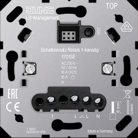 1701SE Jung Schaltereinsatz Relais 1-kanalig  AC 230 V 50/60 Hz Produktbild