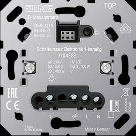 1704ESE Jung Schalteinsatz Elektronik Wächter 1-kanalig Produktbild