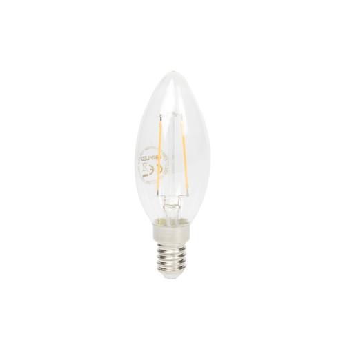 LIMLED B25 Filament LED Kerze 2,5W klar E14 250lm 2700K Produktbild Additional View 3 L