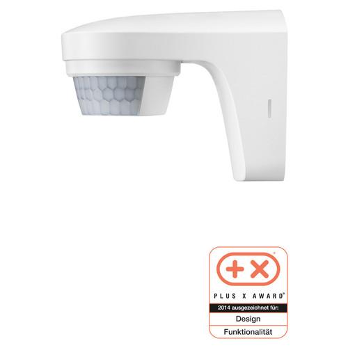 1010505 Theben Bewegungsmelder the Luxa S180 weiß außen Wandmontage IP55 180° Produktbild Front View L