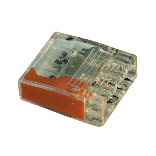 2810864 Eltropa Steckklemme 3x0,5-2,5 orange Produktbild Front View L