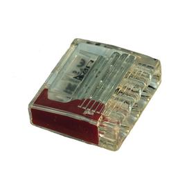 2810865 Eltropa Steckklemme 4x0,5-2,5 rot Produktbild