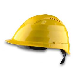 7572 Schutzhelm C3 gelb inkl. Polycarbonat-Scheibe Produktbild