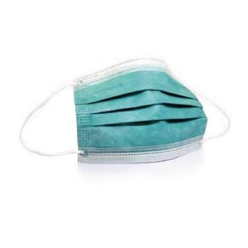 Einwegschutzmaske surgical Type II/R 3lagig (Pkg.=20 Stk.) Produktbild Front View L