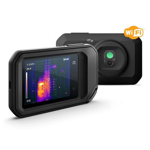 89401-0202 Flir C5 Wärmebildkamera kompakt WiFi Produktbild Front View L