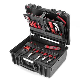 176866 Cimco Gigant-S-Werkzeugkoffer+ Werkzeugsortiment BASIS Produktbild