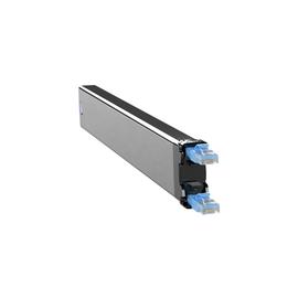 C36STPXC6XXX1B PATCHBOX 365 STP Cassette Netzwerk Kabelmanagement blau Produktbild