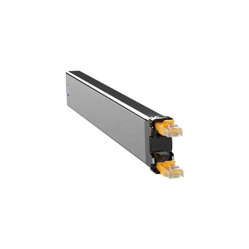 C36STPXC6XXX1Y PATCHBOX 365 STP Cassette Netzwerk Kabelmanagement gelb Produktbild Front View L