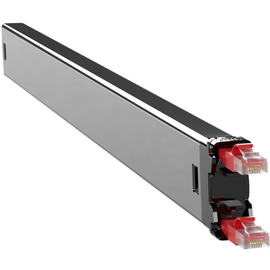 C60STPXC6XXX1R PATCHBOX Plus+ STP Netzwerk Kabelmanagement Casette Rot Produktbild