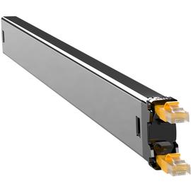 C60STPXC6XXX1Y PATCHBOX Plus+ STP Netzwerk Kabelmanagement Casette Gelb Produktbild