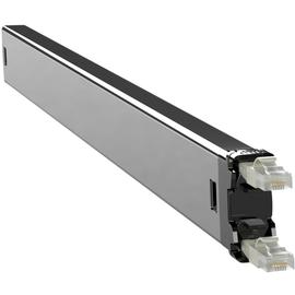 C60STPXC6XX1GY PATCHBOX Plus+ STP Netzwerk Kabelmanagement Casette Grau Produktbild