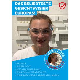 PDT4001-31 Design Gesichtsschutzvisier PET Produktbild