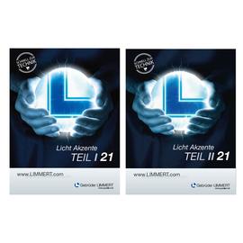 LIMMERT Licht Akzente Teil 1 & Teil 2 Katalog 2021 Produktbild