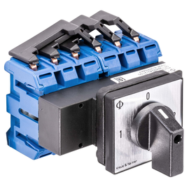 KG100.K900.E K&N 1-0-2 Umschalter 3-p Fronteinbau Produktbild