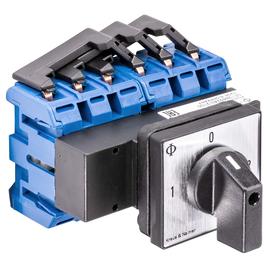 KG105.K900.E K&N 1-0-2 Umschalter 3-p. Fronteinbau Produktbild