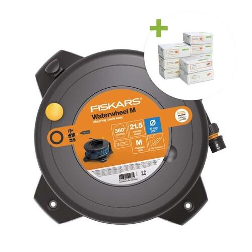 887-985 Wago Profiset Sommeraktion 2021 +FISKARS®-Solid-Waterwheel M Produktbild Front View L