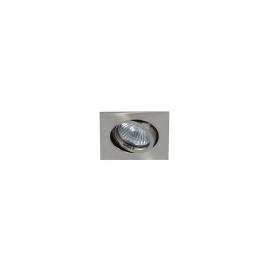 MY-6810-NI Leucht-Wurm Einbaustrahler Quatratisch Nickel Matt o. Fassung Produktbild