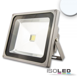 111351 Isoled LED Fluter 50W CW kaltweiss silber matt 4550 Lumen Produktbild