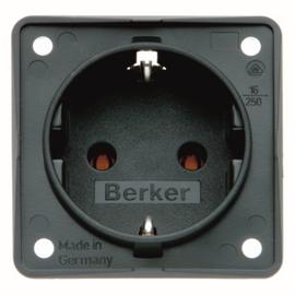 0947782505 Berker Schuko-Steckdose anthrazit Produktbild
