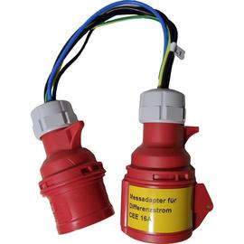 P01102062 CHAUVIN ARNOUX Adapter Differenzstrom zu CEE 16A zu C.A 6107 Produktbild