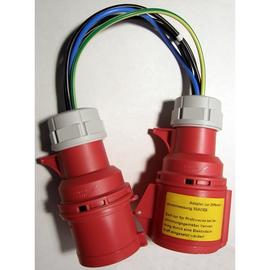 P01102063 CHAUVIN ARNOUX Adapter Differenzstom CEE 32A zu C.A 6107 Produktbild