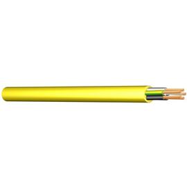 XYMM-J 5X4 GELB K35 Messlänge PVC-Baustellenleitung mit Aufdruck: Produktbild