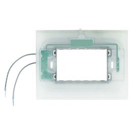 HA4703X Bticino Tragring 3 Module beleuchtet Produktbild