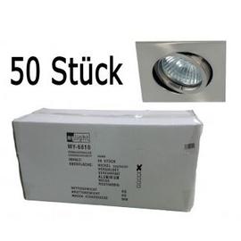 MY-6810-NI/BOX Leuchtwurm Einbaustrahler nickel VP=50 o. Fassung Produktbild