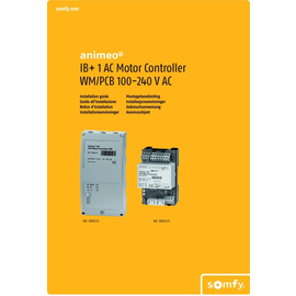 1860121 Somfy 1AC Motor Controller WM AP Produktbild