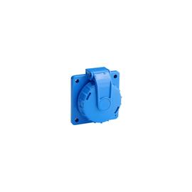 1987951 ABL Druckwasserdichte Schuko-Steckdose IP68 Blau Produktbild
