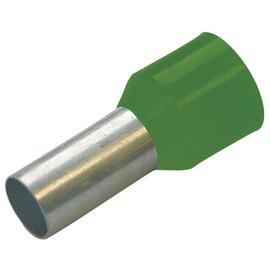 270746 Haupa Aderendhülse 16/12 grün isoliert Produktbild