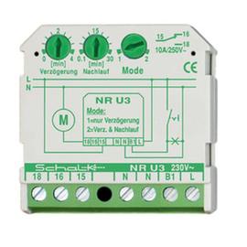 NRU309 SCHALK Nachlaufrelais UP 230V Produktbild