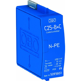 5095603 Obo C 25-B+C Blitzstromableiter zwischen N gegen PE Produktbild