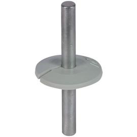 276056 Dehn Wasserableiter 8mm grau Manschette als Tropfwasserkante Produktbild