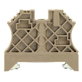 1061200000 Weidmüller WEW 35/2 Endwinkel Schienenhalter Produktbild