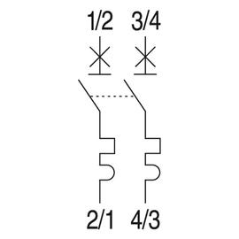 566904 GE EP101B16N Leitungsschutz- Schalter 1-Pol. 16/1N/B 10KA ELFA+ Produktbild