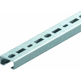 1104500 Obo CML3518P2000FS Profilschiene gelocht, Schlitz=17mm, 35x18x2000mm Produktbild
