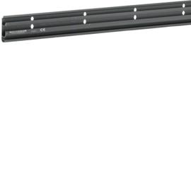 SL200551 Tehalit Sockelleistenkanal 20x55 Schwarz Unterteil Produktbild