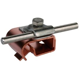 339167 Dehn Dachrinnenklemme m.Klemmbock CU/ST/TZN 16-22mm,6-10mm Zweimetall Produktbild