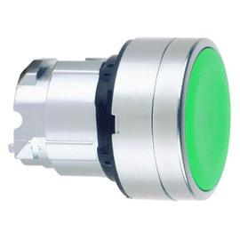 ZB4BP383 Schneider E. Drucktaster grün mit Silikonschutzkappe Produktbild