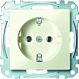 MEG2301-0344 Merten Schuko-Steckdose 16A Thermoplast Brillant Weiß Glänzend Produktbild
