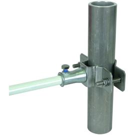 106352 DEHN Rohrschelle Niro 48-60mm m.Befestigungsbuchse f.Distanzstab 16mm Produktbild