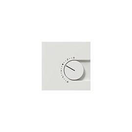 0390112 Gira Raumthermostat Ö reinweiß glänzend m. Schalter Flächenprogram 230V Produktbild