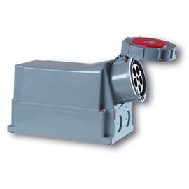 145-6 PC-Electric Power SHARK Wandsteck- Dose 5x125A Produktbild