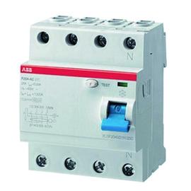 F204A-40/0,1T STOTZ FI-Schalter 4pol. Wechsel-/pulsstromsensitiv Produktbild