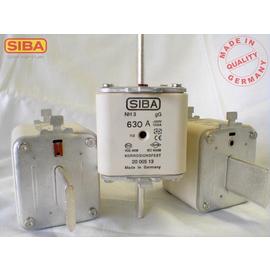2000513.355 SIBA NH-Sicherung gG Gr.3 355A 500V Kombimelder DIN43620 Produktbild