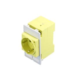 2482410 RITTAL Steckdosenmodul 2xRJ45 m. Schraubklemme gelb Produktbild