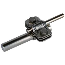 459119 Dehn Uni-Trennklemme Niro m. Zwischenplatte f. Rd 8-10/16mm Produktbild